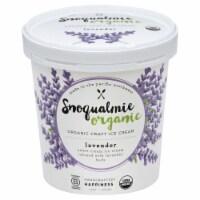 Snoqualmie Organic Lavender Ice Cream - 1 pt