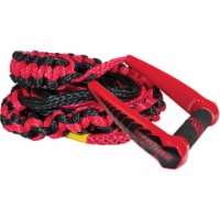 CWB 20 Foot Proline LG Surf Rope and Handle, Red