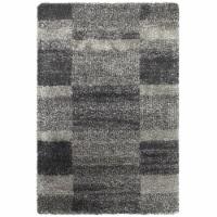 Oriental Weavers Henderson 531Z1 6x9  Rectangle - Grey/ Charcoal-Polypropylene