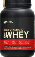 Optimum Nutrition Double Rich Chocolate 100% Whey Protein Isolate Powder Drink Mix