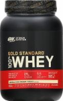 Optimum Nutrition Gold Standard 100% Whey Vanilla Ice Cream Protein Powder - 2 lbs