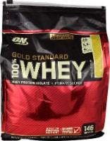Optimum Nutrition  Gold Standard 100% Whey Protein Isolate   Vanilla Ice Cream - 10 lbs