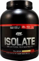 Optimum Nutrition  Isolate 100% Whey Protein Isolate   Vanilla Soft Serve