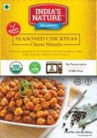 India's Nature Organics Seasoned Chickpeas