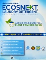 ECOSNext Liquidless Free & Clear Laundry Detergent