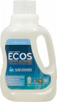 ECOS® 2x Free & Clear Laundry Detergent - 50 oz