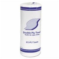 Whitehall GEN1797 2-Ply Kitchen Roll Towels - White