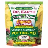 Dr. Earth® Exotic Blend Cactus & Succulent Blend Potting Soil - 8 qt