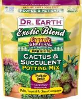 Dr. Earth® Organic Exrotic Blend Cactus & Succulent Potting Mix - 4.4 L