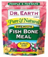 Dr. Earth Pure & Natural Organic Bone Meal 2.5 lb. - Case Of: 1;