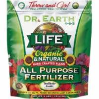 Dr. Earth Life All Purpose 4 Lb. 4-6-5 All Purpose Organic Pelletized Fertilizer
