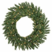 48  Imperial Pine Wreath 200WmWht LED - 1