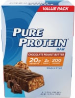 Pure Protein Chocolate Peanut Butter Protein Bars