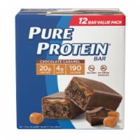 Pure Protein® Chocolate Caramel Bars - 12 ct / 1.76 oz
