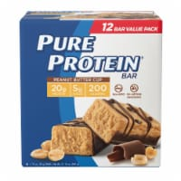 Pure Protein Peanut Butter Cup Bars - 12 ct / 1.76 oz