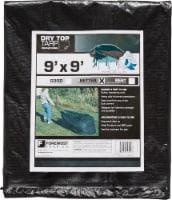 Foremost Tarp Co. Dry Top® Drawstring Tarp - Black