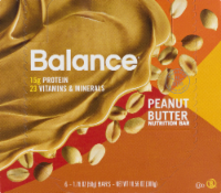 Balance Bar Peanut Butter Sleeve