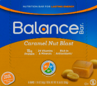 Balance Bar Gold Caramel Nut Blast Bars
