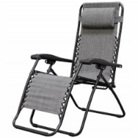 Four Seasons Gravity Chair - Gray, Extra Large