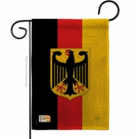 13 x 18.5 in. Germany Burlap Flags of the World Nationality Impressions Decorative Vertical D