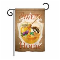 13 x 18.5 in. My Bee Sweet Home Garden Friends Bugs & Frogs Impressions Decorative Garden Fla - 1