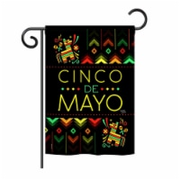 G165129-BO Serape Cinco De Mayo Country & Primitive Southwest Impressions Decorative Vertical