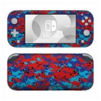 DecalGirl NSL-DIGIPCAMO Nintendo Switch Lite Skin - Digital Patriot Camo - 1