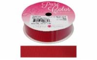 Morex Ribbon Grosgrain 7/8 x 7yd Red - 1