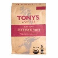 Tony's Coffee Organic Espresso Noir Dark Roast Coffee - 12 oz