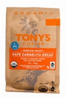 Tony's Coffee Organic Cafe Carmelita Decaf Medium Roast Coffee - 12 oz