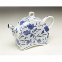 AA Importing 59786 Blue & White Teapot