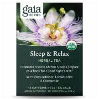 Gaia Herbs  Sleep and Relax Herbal Tea - 16 Tea Bags