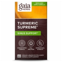 Gaia Herbs Turmeric Supreme Allergy Liquid Phyto-Caps