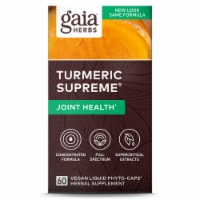 Gaia Herbs Turmeric Supreme Joint Dietary Supplement Liquid Phyto-Caps