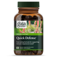 Gaia Herbs Quick Defense Herbal Supplement Liquid Phyto-Capsules