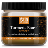 Gaia Herbs Restore Turmeric Boost Herbal Supplement
