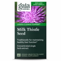 Gaia Herbs Milk Thistle Seed Liqui Phyto-Caps