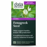 Gaia Herbs Single Herbs Fenugreek Seed Dietary Supplement