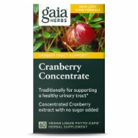 Gaia Herbs Single Herbs Cranberry Concentrate Dietary Supplement
