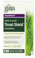 Gaia Sage & Aloe Throat Lozenges