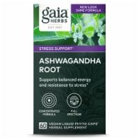 Gaia Herbs Ashwagandha Root Vegetarian Liquid Phyto Caps