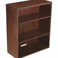 """Boss Bookcase,Mahogany,14"""" Depth,36"""" H"""