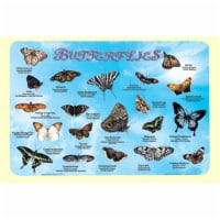 Painless Learning BUT-1 Butterflies Placemat - Pack of 4 - 1