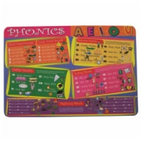 Painless Learning PHO-1 Phonics Placemat - Pack of 4