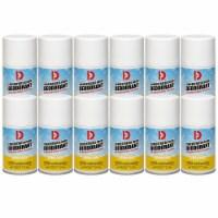 Big D Concentrated Room Aerosol Deodorant, Lemon Drop Scent, 7 oz (12 Pack) - 1 Piece