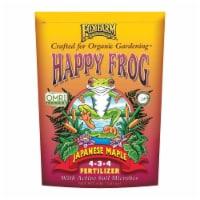 FoxFarm Happy Frog Japanese Maple Plant Food Tree Fertilizer Mix, 4 Pound Bag - 1 Piece