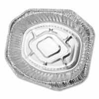 DPK Oval Aluminum Roaster Pans - Extra Large - 1