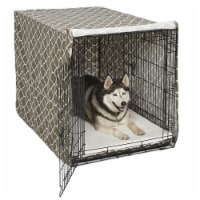 36 in. BRN Pets Dog Crate Cover - 1