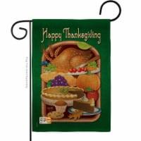 BD-TG-G-113039-IP-DB-D-US12-BD 13 x 18.5 in. Thanksgiving Feast Burlap Fall Impressions Decor - 1