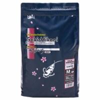 Saki Color Enhancing Floating Diet Pellet Fish Food - 4.4 lbs Bag